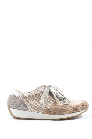 ara Sneakers met veters Webpatroon casual uitstraling