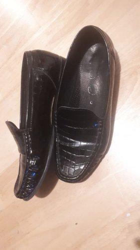 ara Slip-on Shoes black mixture fibre