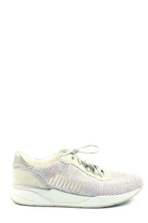 ara Scarpa skate bianco sporco-rosa puntinato stile casual