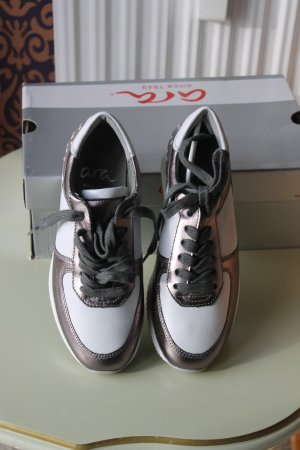 Ara Sneaker Grau-Street-Weiss Gr. EU 36,5/ UK3,5