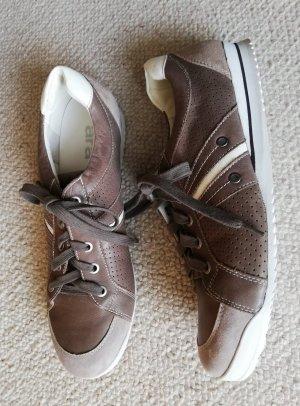 ara Sneakers met veters grijs-bruin