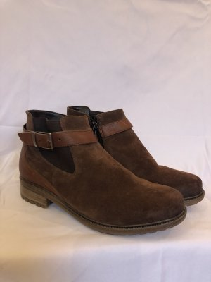 ara Winter Booties brown-russet suede