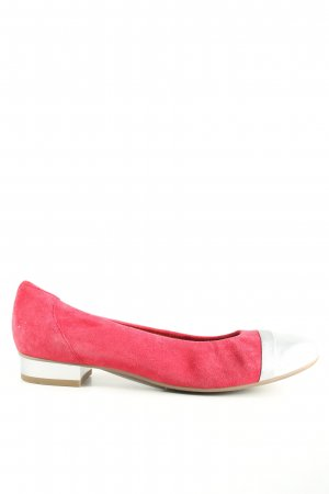 ara Loafers pink-silver-colored casual look