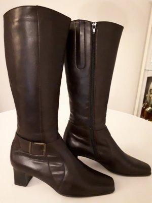 ara Jackboots dark brown leather