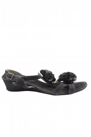 ara Wedges Sandaletten blau Casual-Look