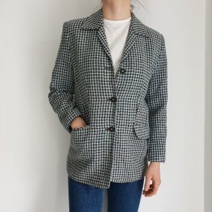 ara Oversized Jacket white-black