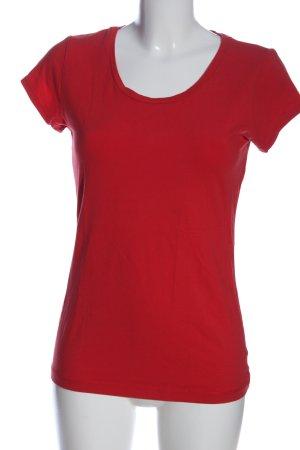 Arabella & Addison T-shirt czerwony W stylu casual