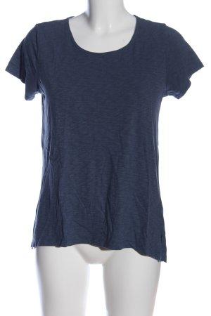 Arabella & Addison T-shirt niebieski Melanżowy W stylu casual