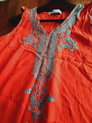 Sukienka plażowa srebrny-łosowiowy