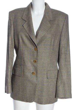 Arami Klassischer Blazer gris clair motif à carreaux style d'affaires