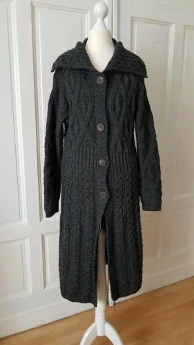 Aran Crafts Manteau en tricot multicolore