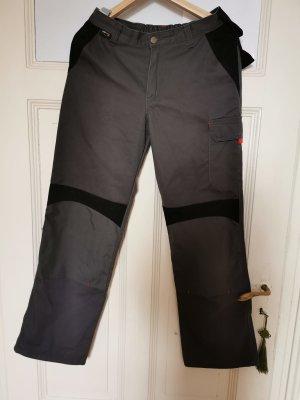 pantalón de cintura baja negro-gris oscuro Algodón