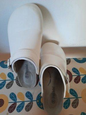 Björndal Heel Pantolettes white