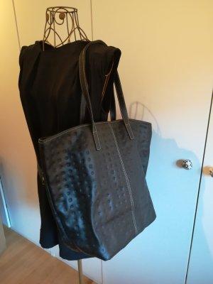 Arcadia Shopper black leather