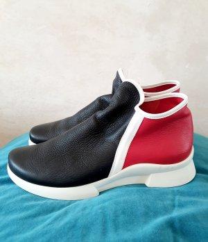 Arche Botas de tobillo negro-rojo