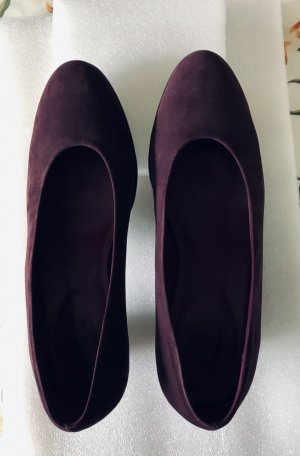 Arche Loafers roodbruin Leer