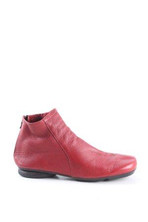 Arche Stivaletto con zip rosso stile casual