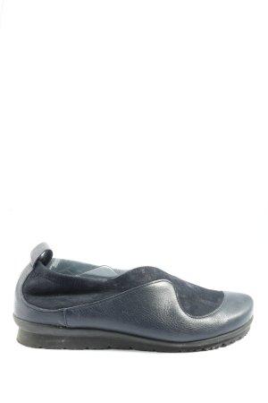 Arche Scarpa slip-on blu-nero stile casual