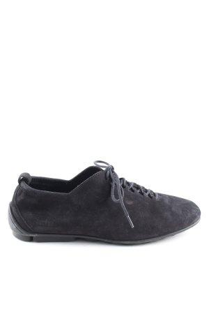 Arche Chaussures à lacets noir style décontracté