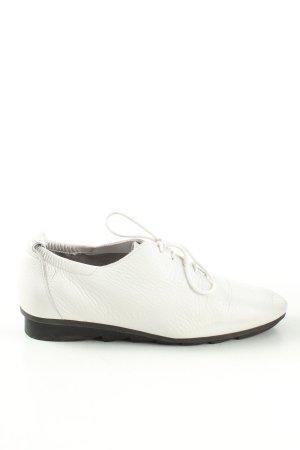 Arche Sznurowane buty biały W stylu biznesowym
