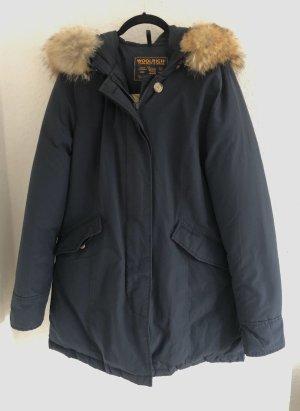 Woolrich Winter Coat dark blue
