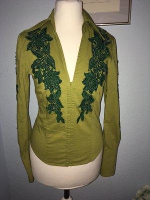 ARDEN.B. Ein grünes Korsetthemd