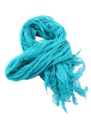 area Crinkle Scarf turquoise elegant
