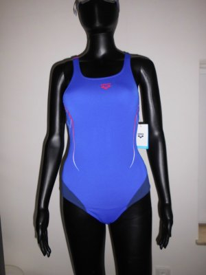 Arena Swimsuit blue-dark blue polyester