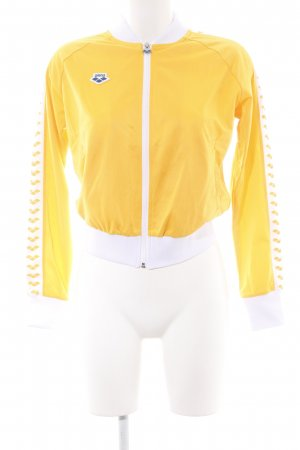 Arena Giacca sport giallo-oro stile atletico