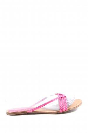 Arezzo Flip-Flop Sandals pink casual look