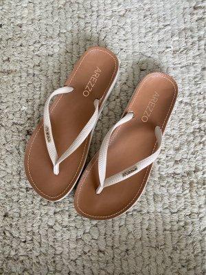 Arezzo Flip flop sandalen lichtbruin-room