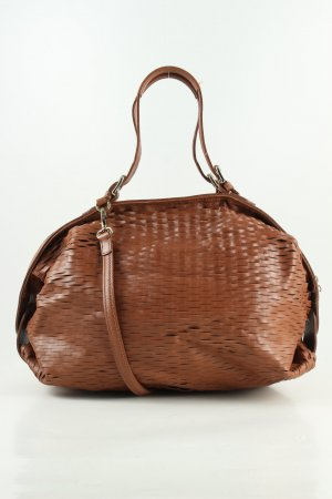 Arezzo Carry Bag brown allover print casual look