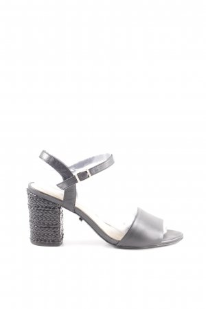 Arezzo Strapped Sandals black casual look