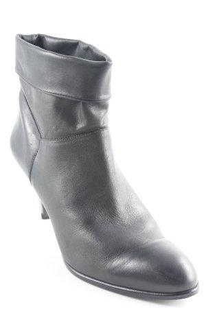 Arezzo Schlüpf-Stiefeletten schwarz Casual-Look