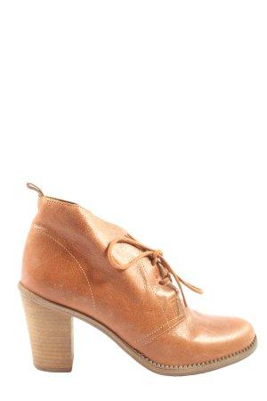Arezzo Bottines à lacets brun style décontracté