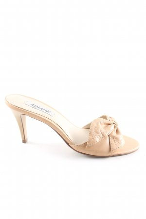 Ariane High Heel Sandaletten creme Casual-Look
