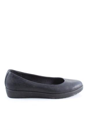 Ariane Slip-on noir style d'affaires