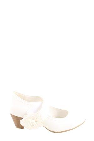 Ariane Półbuty Mary Jane biały W stylu casual