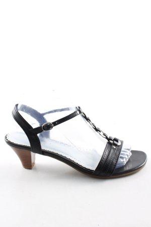 Ariane Riemchen-Sandaletten schwarz Casual-Look
