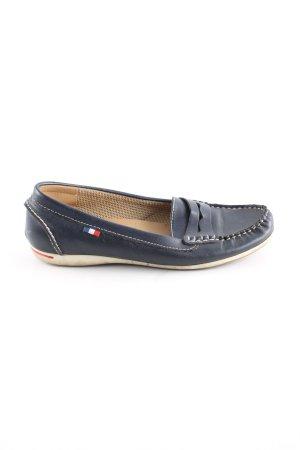 Ariane Chaussures bateau bleu style décontracté