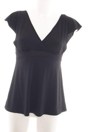 Arianne A-Linien Top schwarz Elegant