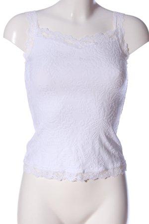 Arianne Débardeur à bretelles blanc élégant