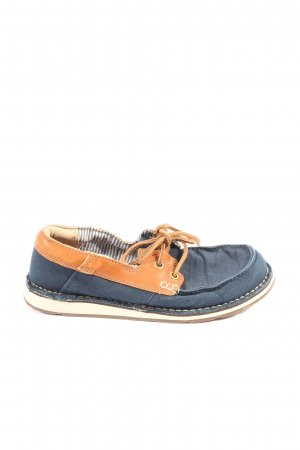 Ariat Lace-Up Sneaker blue-light orange casual look