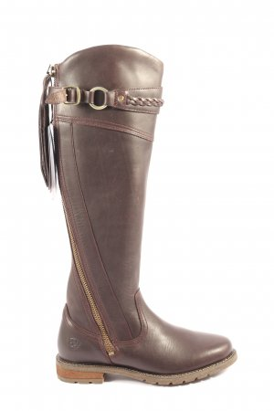 Ariat Wide Calf Boots brown casual look