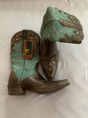 Ariat Western Boots brown red-forest green