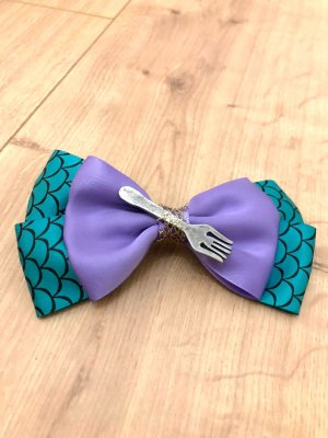 Disney Klamra do włosów fiolet-morski