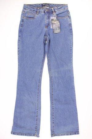 Arizona Boot Cut Jeans blue-neon blue-dark blue-azure cotton