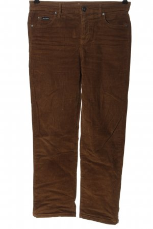 Arizona Corduroy Trousers brown casual look