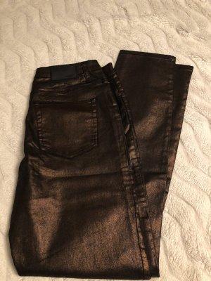 Arizona Pantalon cinq poches bronze