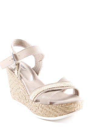 Arizona High Heel Sandaletten mehrfarbig Metallelemente
